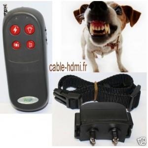 Collier de dressage chien Electrique Anti-aboiement