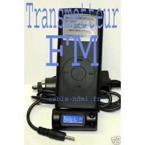 Transmetteur FM chargeur iPhone 3G iPod Touch et Nano
