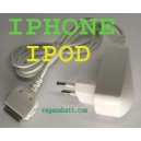 Chargeur secteur iPod Nano Touch V2 iPhone 3G 3GS