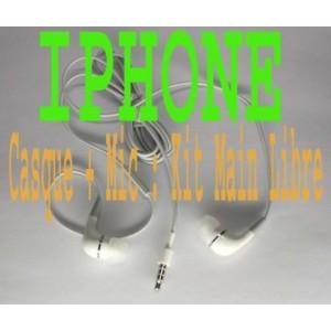 Casque écouteur kit piéton earphone iPhone 2G 3G 3GS 4