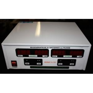 Regenerateur de Batterie Pro REGBAT 2 x 12V