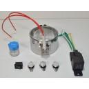 Réchauffeur ceinture chauffante 1x200w 24v filtre a Gazole, biodiesel