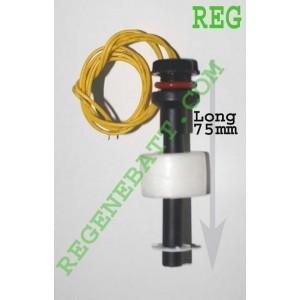 Capteur de niveau d'eau liquide flotteur horizontal Long 75mm D23