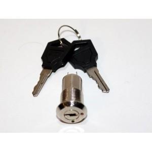 Interrupteur contacteur à clé de contact 250v mini