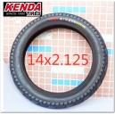 "Pneu 14"" e-bike renforcé Kenda 14x2.125"