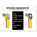 Thermomètre infrarouge 380°C à visée laser