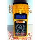 Telemetre Mesure distance Ultrason - visée laser