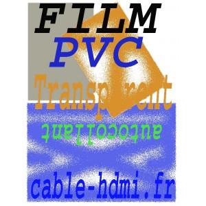 Film adhésif Transparent PVC A4 Autocollant Laser HQ