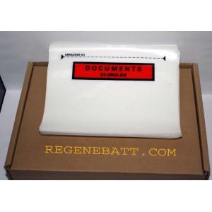 30 Etiquettes Porte-Document Colis Autocollant 17x13 cm