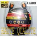 Cable HDMI M/M Full HD Plaqué OR 1m/1,5m/2m/2,43m DVD FREEBOX - PS3 - XBOX
